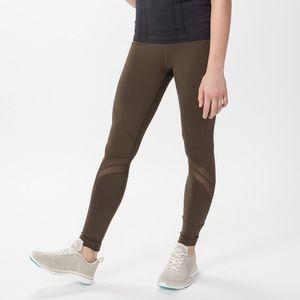 Ivivva Cool Urbanite Olive Legging Sz 10, Pockets